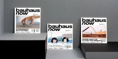分享现代包豪斯杂志的设计想法!