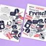 为巴黎设计博览会手机设计的一本杂志刊物