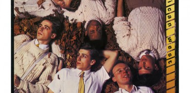 加拿大樂隊的首張發行唱片封面字體采用了偽斜體設計