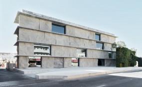 混凝土结构设计的巴林艺术收藏仓库