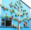 自2006年以来,丹麦艺术家Thomas Dambo 已经建造了3500多个城市鸟屋