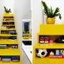 建筑师Andrew Maynard 设计的黄色楼梯简直要亮