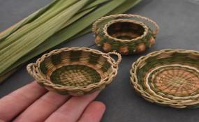 編織品:春天,我采柳樹皮和蒲公英!