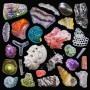 摄影:沙滩沙子的彩色照片揭示了微小的珊瑚,石