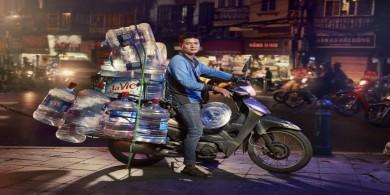 小小的身体,大大的能量,出现在越南的大街小巷