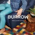 占位符为家具品牌Burrow设计的中世纪风格字