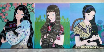Jang Koal 奇思妙想的《幻影貓》系列繪畫作品,夢幻般的畫面美極了