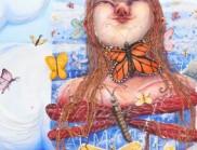 Kate Klingbeil 美丽的丙烯酸画,引人入胜