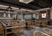 万达广场鱼餐厅装修设计图