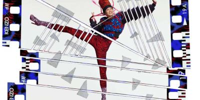 讓-保羅·古德的KENZOxH&M系列新視覺作品