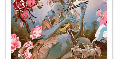 James Jean 印刷发行了艺术作品Udon 的相关图片