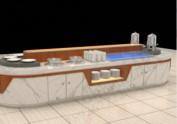 酒店餐厅餐台 供电局职工食堂自助餐