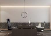 西安国企办公室装修设计图