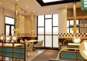 青岛自助餐厅韩式烧烤烤肉店装修设计