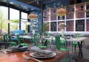 青岛经典西餐厅装修设计---山东舜禾