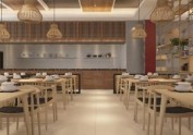 青岛餐饮连锁加盟火锅店自助餐厅装修