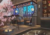 青岛经典日料餐厅料理店装修设计——