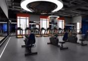 单位员工健身房装修设计效果图