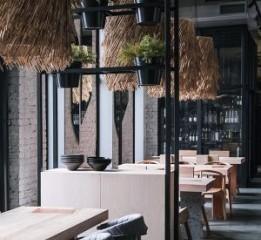 成都餐厅设计丨 纳维亚餐厅丨川颂装
