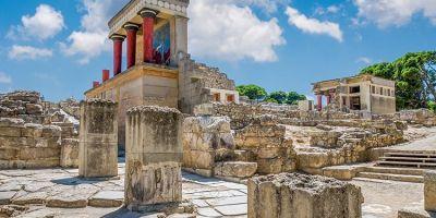 这座位于克里特岛的古代宫殿,拥有欧的相关图片
