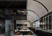 成都餐厅设计丨轨迹融入空间,增强用