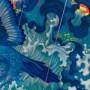 插画艺术家James Jean 怪兽画作品:《漂流》