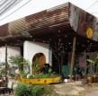 越南生动的咖啡店采用了不同的材料和形状