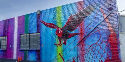 涂鸦艺术家RISK 在洛杉矶的相关图片