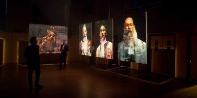 这些大型油画和肖像画,揭露了欧洲历的相关图片