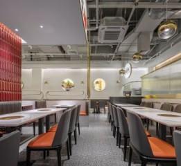 成都餐厅设计丨简约风,牛小灶,阵列
