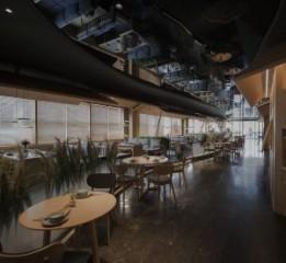成都餐厅设计丨岸乡餐厅设计装修案例